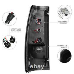 03-06 Chevy Silverado 1500 2500 SINISTER BLACK SMOKE LED Rear Lamp Tail Light