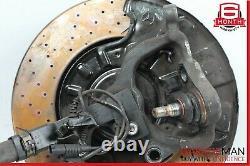 03-09 Mercedes W211 E63 AMG Front Left Spindle Knuckle Hub Brake Rotor Assembly