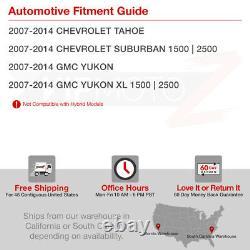 07-14 Chevy Suburban Tahoe/GMC Yukon XL Red LED Brake Tail Light Signal Lamp L+R