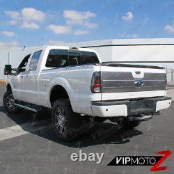 08-16 Ford SuperDuty Pickup Truck LED Parking Brake Lamp Black Tail Light SET
