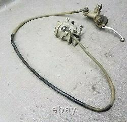 09 Honda CRF450R crf 2009-2012 OEM front brake assembly master cylinder lever