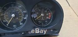 1973 1980 Mercedes R107 450SL 380SL Speedometer Instrument Gauge Cluster 160MPH