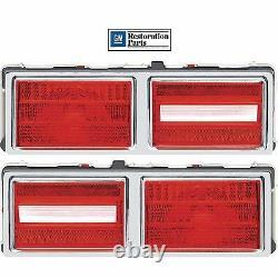 1975 76 77 78 1979 Chevy Nova Tail Lamp Assemblies Light Brake Pair LH + RH New