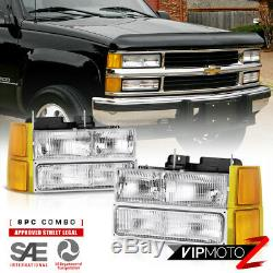 1994-1998 Silverado 1500 Headlamps corner 3rd brake lamp tail lamps LED Assembly