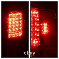 1994-2001 Dodge Ram 1500 2500 3500 Dark Smoke Tinted LED Brake Signal Taillights