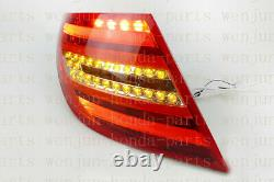 1 Pair Tail Brake Lights Assembly LED For Mercedes-Benz W204 C-Class 2008-2011