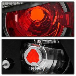 2003-2005 Dodge Neon SE SRT4 SXT RT SXT Black Tail Lights Lamps Rear Brake Pair