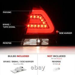 2006-2013 Chevrolet Impala COOLEST LED Neon Tron Rear Tail Lights Brake LH+RH