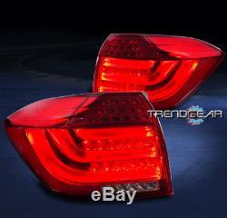 2008-2013 Toyota Highlander Led Tail Brake Light Rear Lamp Assembly Red New
