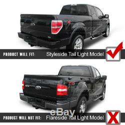 2009-2014 Ford F150 FACTORY RED LED SMD Rear Brake Tail Lights Lamps Assembly