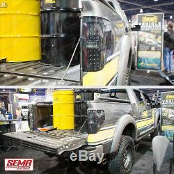 2009-2014 Ford F150 SINISTER BLACK LED Taillight Taillamp Smoke Brake Assembly