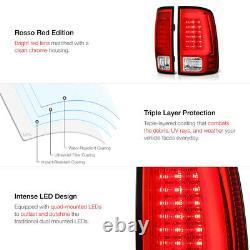 2009-2018 Dodge RAM 1500 2500 3500 Neon Tube LED Tail Lamp License Plate Light
