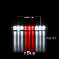 2009-2018 Dodge RAM 1500 2500 Raven Black Brake Light Tail Lamps Assembly SET