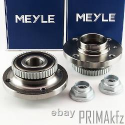 2x MEYLE 300 312 1102/S Radnabe mit Radlager BMW 3er E30 Z1