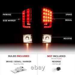 3D LED Light BarFor 02-06 Dodge Ram 1500 2500 3500 Black Tail Light Brake Lamp