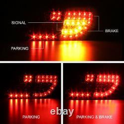 4PC Complete Set For 09-10 Toyota Corolla Smoke LED Brake Signal Tail Light