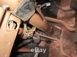 63 64 65 66 Barracuda Dart Valiant Clutch Brake Pedal Assembly A-body