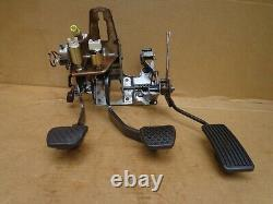 89 Honda Accord Hatchback Clutch Brake & Gas Pedal Assembly Manual 86 87 88 OEM