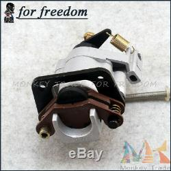 ATV Brake Assembly Hydraulic Disc Front Rear Calipers Pad System 150cc 250cc EGL