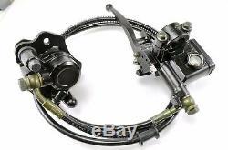 ATV Quad Rear Brake Caliper Assembly For 50 90 110 125cc Sunl TaoTao Roketa NST