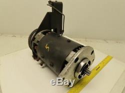 Advanced DC 07988267 36VDC Forklift Motor With Left Side Brake Assembly