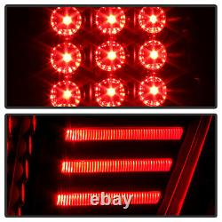BLACK SMOKE LED Tail Light Brake Signal Lamp For 02-06 Chevy Avalanche 1500 2500