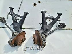 BMW Z3 Rear Trailing Arms Brakes Calipers E30 5 Lug Swap Complete Assembly 318Ti