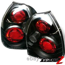 Black For Honda Civic 3DR EK EK9 Hatchback Tail Light Lamp 96-00 CX SiR B16 VTEC