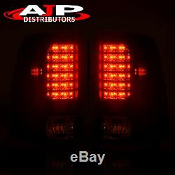 Black Replacement LED Brake Tail Lights Lamps For 2009-2018 Ram 1500 2500 3500