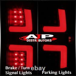 Black Smoke LED Tail Lights Brake Lamps For 2002-2006 Dodge Ram 1500 2500 3500