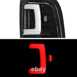 Black TRON STYLE LED Tail Lights Lamps For 1994-2001 Dodge RAM 1500 2500 3500
