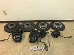 Bmw Oem E60 E63 E64 M5 M6 Caliper Brake Front And Rear Set Rotors 2006-2010