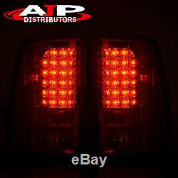 Chrome Replacement LED Brake Tail Lights Lamps For 2009-2018 Ram 1500 2500 3500