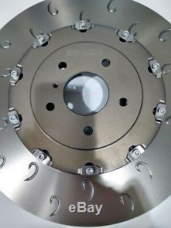 Complete GTR R35 Front 380mm x 34mm Compatibile Rotor Brake Discs Pair 2007-2010