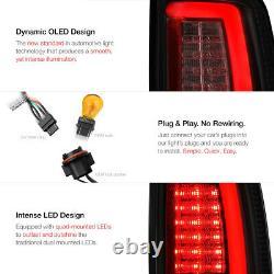 Cree LED Reverse 2009-2018 Dodge RAM 1500 2500 3500 SMOKE OLED Tail Lights