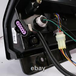Customized CLEAR LED Tail Lights For 2007-2014 Cadillac Escalade / Escalade ESV