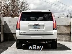 Customized Escalade Style CLEAR LED Tail Lights Assembly For 15-20 GMC Yukon /XL