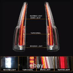 Customized Escalade Style LED Tail Lights For 2015-2020 Chevrolet Tahoe Suburban