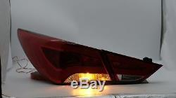 Customized RED CLEAR LED Taillights for SONATA 11-14 GLS Limited SE 11-13 GL