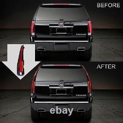 Customized SMOKED LED Tail Lights For 2007-2014 Cadillac Escalade / Escalade ESV