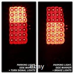 DARKEST SMOKE LED Tail Lights For 2000-2006 GMC Yukon XL Chevy Tahoe Suburban