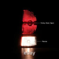 DARK CHERRY RED For 2007-2010 Jeep Grand Cherokee Rear Tail Light Brake Lamp