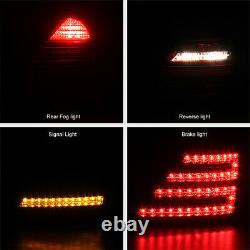 FACELIFT STYLE For 07-09 Mercedes Benz W221 S-Class Red LED Tail Light Assembly