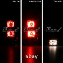 FACTORY REPLACEMENT 2007-2013 GMC Sierra LEFT RIGHT Pair Tail Lights Lamps SET