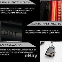 Fiber Optic Escalade Style LED SMOKE Taillights For 2015-2020 Tahoe Suburban