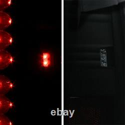 For 00-06 GMC Yukon Chevy Suburban Tahoe Dark Black Smoke LED Tail Brake Light