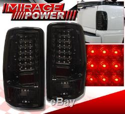 For 00-06 Yukon Truck Replacement LED Brake Tail Light Lamp Assembly Unit Smoked