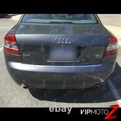 For 02-05 Audi A4 B6 Sedan CLEAN FACTORY STYLE RED LED Brake Lamp Tail Light