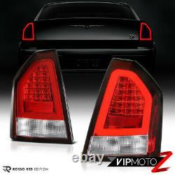 For 05-07 Chrysler 300 PLUG&PLAY LED OLED Neon Tube Red Tail Light Brake Lamp