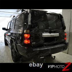 For 06-10 Jeep Commander DARK RED Rear Brake Tail Lights Signal Reverse Lamps